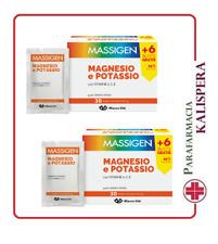 2 Massigen Magnésium et potassium 30X2 sachets NOUVEAU FORMAT PROMOTION