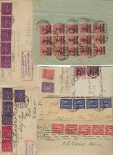 GERMANY 1920 30s COLLECTION OF 25 COMMERCIAL INFLATION COVERS INCLUDES REGISTERE