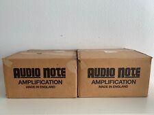 Audio Note p4 300b He Amplifiers/monoblöcke