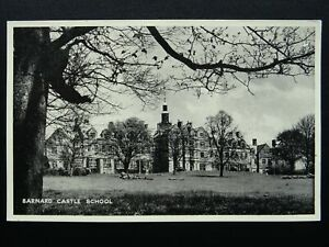 Durham BARNARD CASTLE SCHOOL - Old Postcard by Teesdale Mercury Ltd