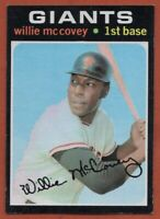 1971 Topps #50 Willie McCovey EX-EXMINT+ San Francisco Giants FREE SHIPPING