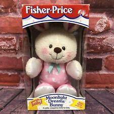 Vintage Fisher #73727 Moonlight Dreams Bunny Plush Satin Ears 1997