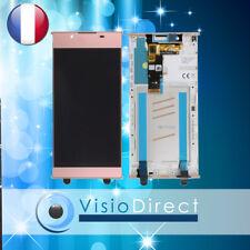 Vitre Tactile Écran LCD sur Chassis pour Sony Xperia L1 Rose G3311 G3312 G3313