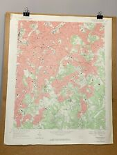East Charlotte North Carolina Mecklenburg County Map 1967 Topographical Survey