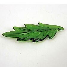 CCB Green Holly Leaves, Christmas, Beads, Large, x 25, PB24
