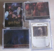 Harry Potter - Trading Cards - Lot 4x sets - guter Zustand