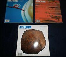 Artforum International Magazine (Lot of 3) Volume 50 #5 6 7 (2012) Jan Feb March