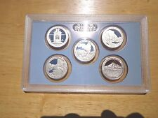 2010 S Clad Proof America The Beautiful Quarter Set  No Box or Coa