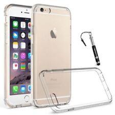 Fundas y carcasas color principal transparente de silicona/goma para teléfonos móviles y PDAs Apple