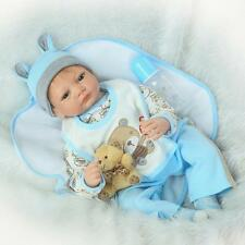 Toy 22 Inch Soft Vinyl Real Life Like Reborn Baby Doll Silicone Dolls Toddler