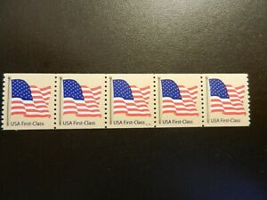 #4131 NON-DENOM. (41c) *FLAG* PNC5.  PLT #S1111.  # on #, 1R.  MNH, F-VF, OG