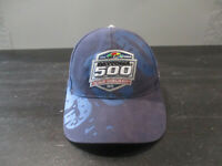 VINTAGE Nascar Hat Cap Blue Red Daytona 500 Racing Racer Strap Back 90s *