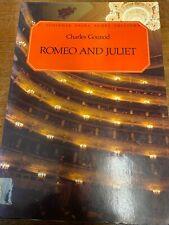 Charles Gounod: Romeo and Juliet: C. Schirmer Opera Score Editions