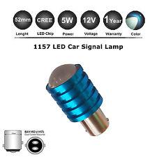 1X Canbus BAY15D 1157 P21W CREE 5W LED White Backup Reverse Light Bulb 12V Globe