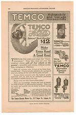 Vintage, Original, 1915 - Temco-Atlas Universal Shock Absorbers Advertisement