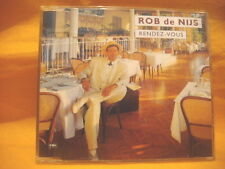 MAXI Single CD ROB DE NIJS Rendez Vous 3TR 1989 dutch soft rock ballad