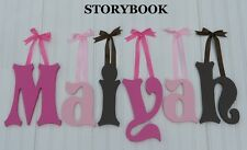 """8"""" size Painted Wooden Wall Letters Children Nursery Playroom Names Storybook"""