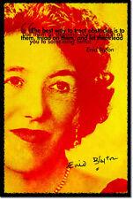 Enid Blyton Arte Foto impresión Poster De Regalo los famosos cinco