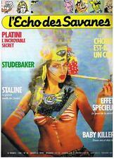 L'ECHO DES SAVANES NOUVELLE SERIE N° 40 1986 TRES BON ETAT