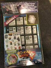 Yo-Kai Watch Medallium Collection Series 1 Book Pages