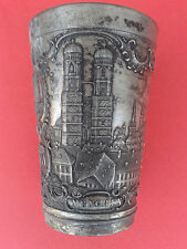 Beautiful VINTAGE GERMANY CUP - CAPTIONS ON THE CUP MUNCHEN-BAVARIA-JUSTIZPALAST