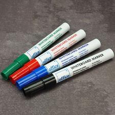 Whiteboard Marker Set - 4 Farben Magnettafel Whiteboardmarker Stifte abwaschbar