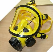 Full Face Worker  Yellow Facepiece GENUINE Gas Mask Respirator GP-9 2016 only