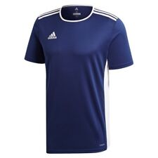 Adidas Mens T Shirt Entrada 18 Climalite Football Sports Jersey Top S M L XL