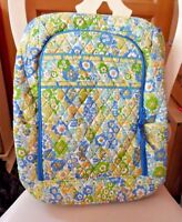 Vera Bradley Campus Laptop backpack large computer bag in English Meadow
