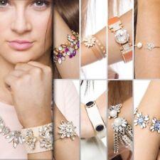Womens Bracelet Chain Statement Bangle Crystal Jewellery Charm Gem Joblot 40 pcs