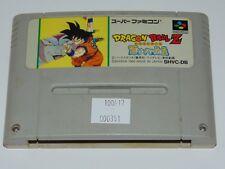 Super Famicom: Dragon Ball Z Saiya Densetsu (cartucho/cartridge)