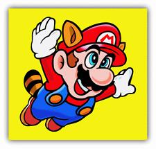 Super Mario Flying Cartoon Car Bumper Sticker Decal 5'' x 5''