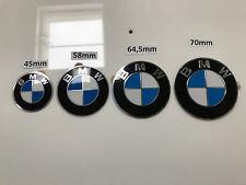 4 Neue Original BMW Plakette Plaketten Nabendeckel Emblem 64,5mm Durchmesser
