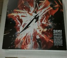 METALLICA S&M2 Deluxe Boxset 2CD Bluray All Regions 4LP in stock sealed S&M 2
