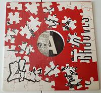 DJ NOIZE / THE WHOLE MESS LP 1997 PROMO CUT UP HIP HOP VINYL DJ LIBERTY GROOVES