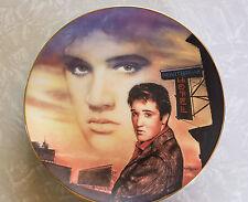 ELVIS Presley HEARTBREAK HOTEL Limited Edition Collector's Plate Delphi 1992