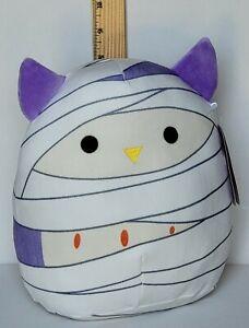 "Squishmallow 8"" Holly Owl Mummy Soft Halloween Plush Free QUICK Ship"