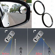"""2 x BLIND SPOT MIRROR ROUND ADHESIVE 2"""" INCH EASY FIT WIDE VIEW ANGLE VAN CAR"""