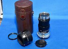 Nikon Nippon Kogaku Q-C f3.5 13.5cm 135mm Rangefinder Lens Black