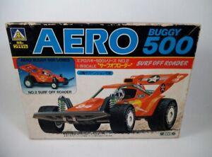 Vintage Aoshima 1/28 Mini 4WD Aero 500 Buggy No. 2 Surf Off Roader Tamiya ARII