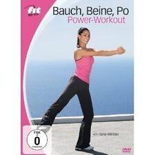 FIT FOR FUN - BAUCH, BEINE, PO POWER-WORKOUT  DVD NEU