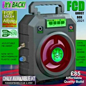 FCD MK4+ Adj Ghost Box Portal All in One Electronics Paranormal Sale.