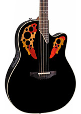 NEW Ovation Standard Elite 2778AX-5 Acoustic-electric Guitar Black AA Spruce Top