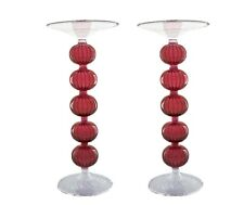 Candle Holder Center piece Red color for wedding Lantern Table Gift