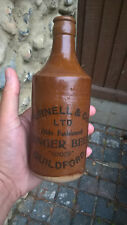 Vintage Early Brown Purnell & Co. Ltd Guildford Ginger Beer Bottles Surrey