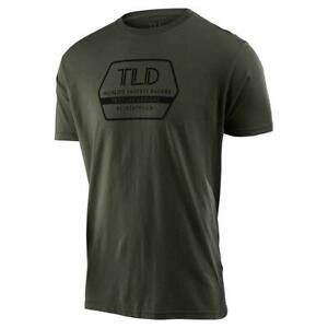 Troy Lee Designs 2020 Factory Tee Green All Sizes