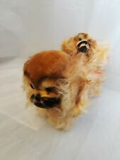 Vintage Steiff Mohair Stuffed Animal Small Peky and Large Peky 2 Dogs