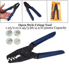 Open Style Crimp Tool Wiring Harness Crimper Open Barrel 22-10 AWG Plier Pretty
