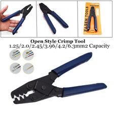 Open Style Crimp Tool Wiring Harness Crimper Open Barrel 22-10 AWG Plier Pretty