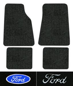 1992-2011 Ford Crown Victoria Floor Mats - 4pc - Cutpile